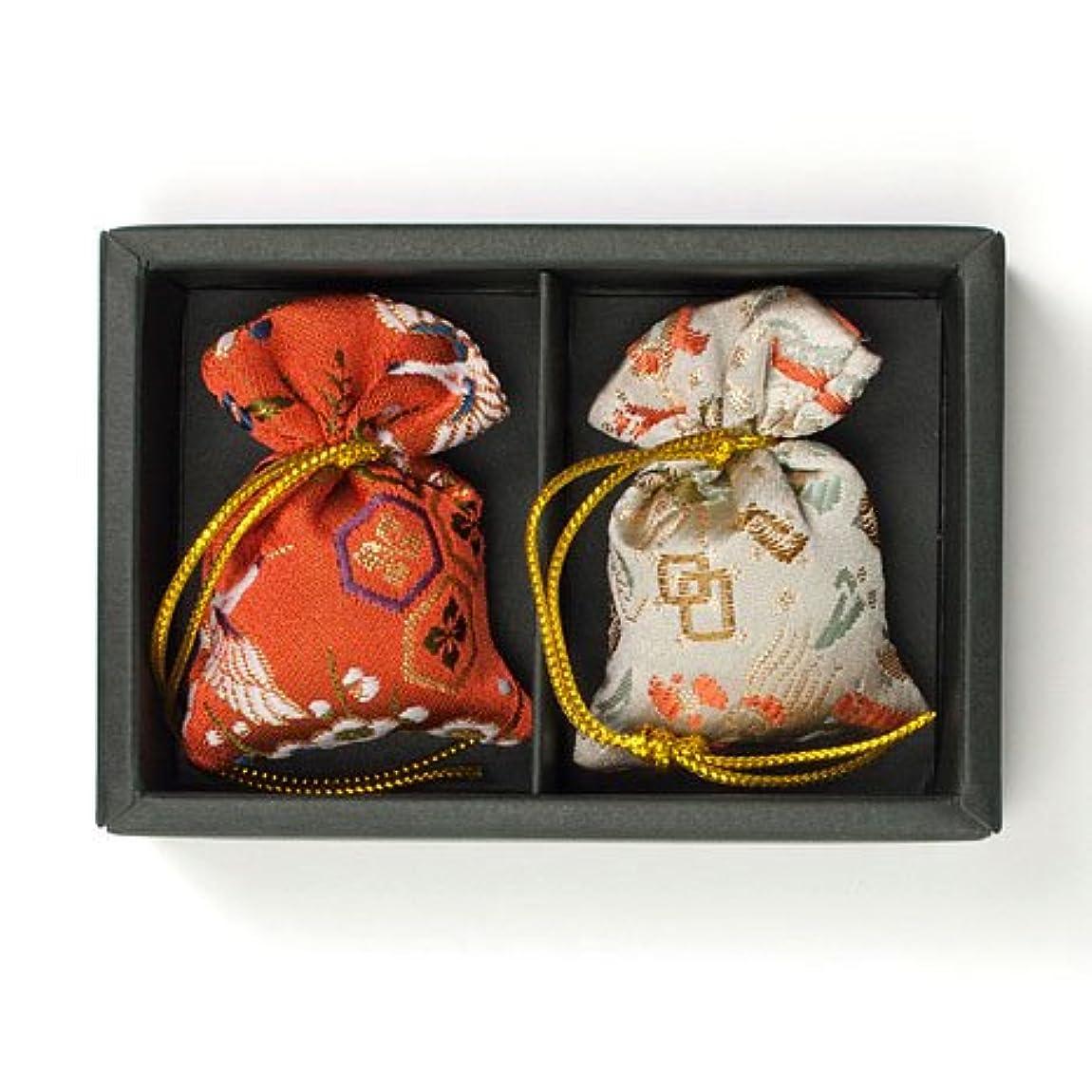 作ります後世寝る匂い袋 誰が袖 みやこ(大) 2個入 松栄堂 Shoyeido