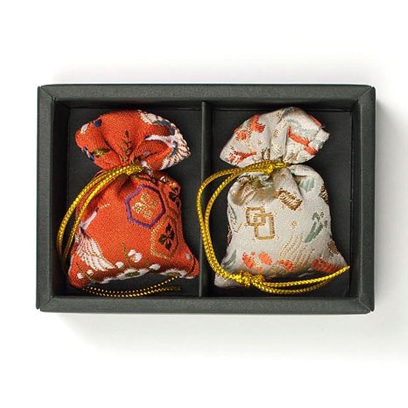 ますますデマンド印象的な匂い袋 誰が袖 みやこ(大) 2個入 松栄堂 Shoyeido