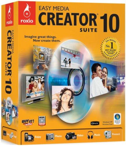 Easy Media Creator Suite - (version 10 ) - ensemble complet - 1 utilisateur - DVD - Win - Royaume-Uni