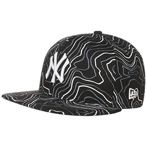 Berretto da Baseball New Era 59Fifty Contour Crown Neyyan black white nero-bianco 7