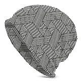 Hdadwy Patrón Hexagonal sin Costuras en Estilo de ratán Gorro de Punto de Invierno Gorro de Invierno cálido y elástico Gorros Suaves para Hombres y Mujeres Comodidad Durante Todo el año