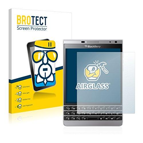 BROTECT Panzerglas Schutzfolie kompatibel mit BlackBerry Passport Silver Edition - 9H Extrem Kratzfest, Anti-Fingerprint, Ultra-Transparent