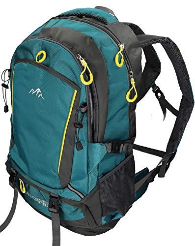 BETZ Mochila Unisex para Viaje Senderismo Camping Tiempo Libre Capacity I con 4 Bolsillos Volumen de 33 litros Color Petrol