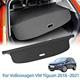 Vesul Retractable Rear Trunk Cargo Cover Fit for Volkswagen VW Tiguan 2018 2019 2020 2021 Security Shade Shield Tonneau Cover Anti-Peeping Luggage Privacy Screen