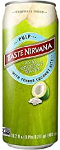 Taste Nirvana Real Coconut Water, Coco Pulp with Tender Coconut Bits, 16.2 Ounce Cans (Pack of 12)