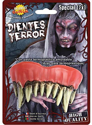 Guirca 2177 - Dientes Monstruo con Termoplastica