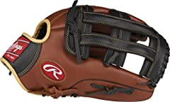 12-3/4-inch Baseball glove for men crafted from Full-Grain, oiled leather for a vintage look Zero shock palm pads protect your hands Padded finger back lining ensures superior comfort Ready to play; Comes 90 percent broken-in from the factory Availab...