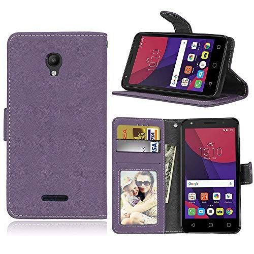 Sangrl Libro Funda para Alcatel One Touch Pop Star 3G OT5022D (5.0 Pulgada), PU...