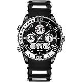 Youwen?Men Military Watch Electronic Military Luxury Watch Men LED Male Clock Casual Brand Wrist Digital-Watch Sport