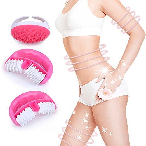 Cellulite Massager, Kapmore 3PCS Anti Cellulite Massager Set Cellulite Roller,...