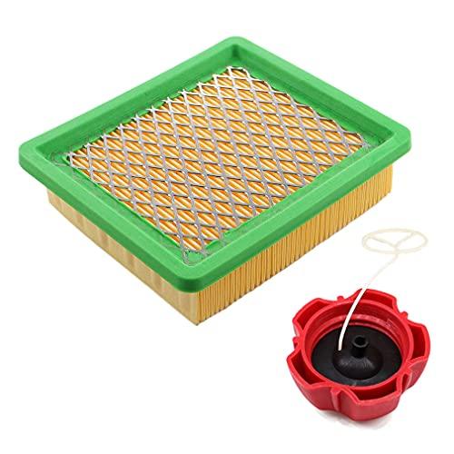 AISEN Luftfilter mit Tankdeckel für Fuxtec FX-RM1855 FX-RM1860 FX-RM2055 FX-RM2060 FX-RM2060PRO FX-RM2060S FX-RM20SA60 Rasenmäher