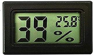 YIN YIN, Medidor - Medidor de Humedad de Temperatura Digital LCD Termómetro, Mini termómetro Digital Higrómetro y Humedad,...