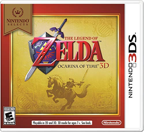 Nintendo Selects: The Legend of Zelda Ocarina of Time 3D