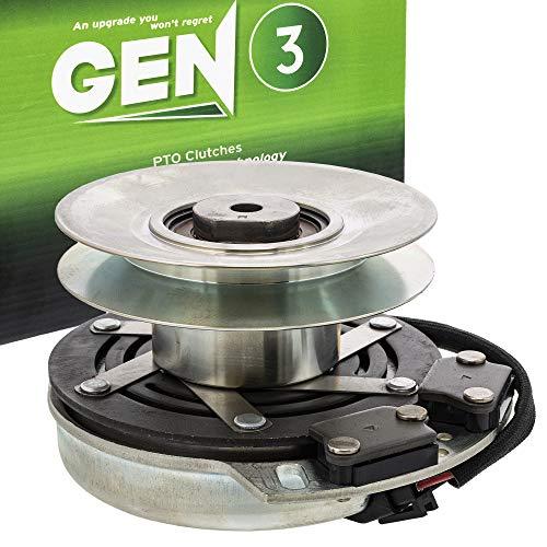 8TEN Gen 3 Electric PTO Clutch for John Deere Warner Z425 Z445 AM141536 AM134397 AM136787 5219-62 5219-87 5219-127