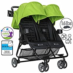 Double Umbrella Stroller for Infants and Toddlers