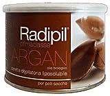 Radipil, Ceretta Depilatoria Professionale con Argan, per Pelli Secche - Vaso da 400 Ml