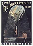Caves Ruinard Reims Poster Reproduktion – Format 50 x 70