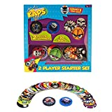 Pog Retro Kaps 2-Player Starter Set Game Includes: 30 Pogs & 2 Slammers