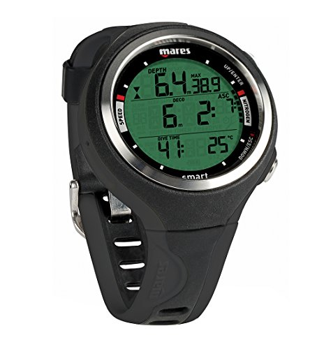 Mares Smart Reloj, Unisex Adulto, Black, One Size