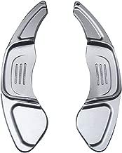 Schaltwippen Verl/ängerung Schaltug Shift Auto Lenkrad Shift Paddel Shifter Aluminium Dekoration Aufkleber Rahmen Cover Shifters Paddles Aufkleber f/ür A5 S5 S6 SQ5 RS6 RS7 Schwarz