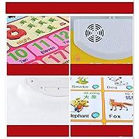 3歳以上の男の子と女の子に適した学習用おもちゃ、子供の教育用インタラクティブポスターの文字、数字、形、色、綴り、ゲーム、クイズ、音楽