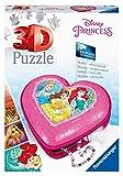 Herzschatulle - Disney Princess. 3D Puzzle 54 Teile