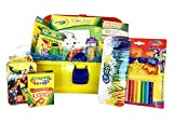 Fun with Crayola Valentine Gift Basket perfect Valentine gifts for kids. Children ages 3 and up