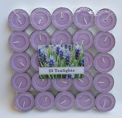 Tealight 25 Lavender Scent [ Italian Import ]