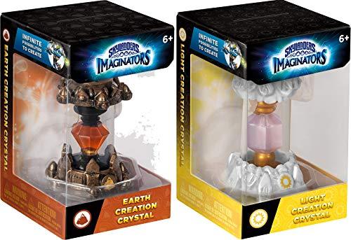 Earth and Light Skylanders Imaginators Creation Crystal 2-Piece Bundle - Earth Rocket and Light Rune Set