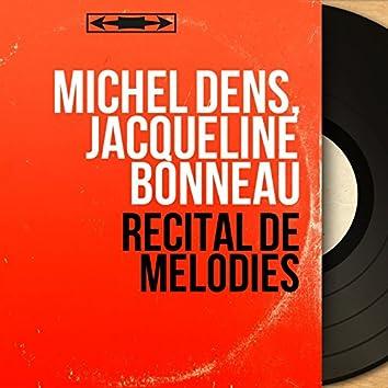 Récital de mélodies (Mono Version)