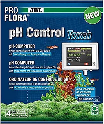 JBL ProFlora pH-Control Touch Mess- und Steuercomputer zur Kontrolle der CO2-/pH-Werte in Aquarien, Touch-Display, 63187