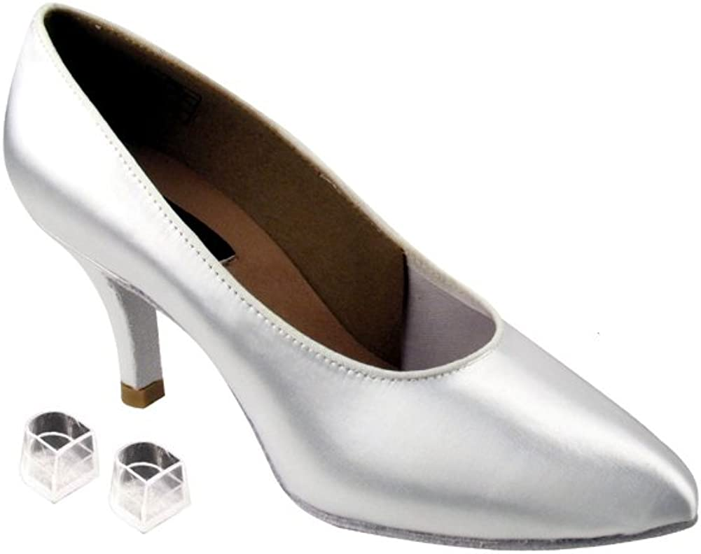 Very Fine Ladies Women Ballroom White Fixed price for sale EKCD5021M Sati Shoes All items free shipping Dance