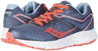 Saucony(サッカニー) レディース 女性用 シューズ 靴 スニーカー 運動靴 Cohesion 11 - Grey/Vizi Red [並行輸入品]