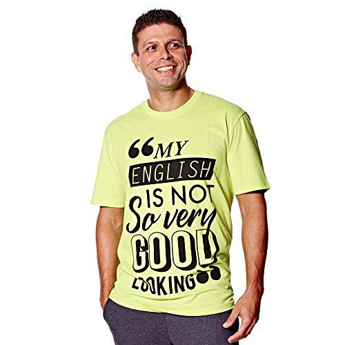 Zumba Camiseta Manga Corta Amarillo M