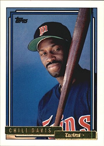 1992 Topps Gold #118 Chili Davis MLB Baseball Trading Card