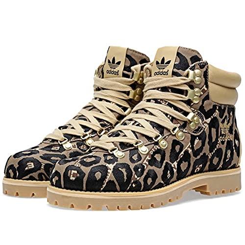Adidas X Jeremy Scott OBYO Leopard - Botas de senderismo, color Multicolor, talla 41 1/3 EU