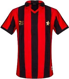 Cruyff Classics 1981 AC Milan Retro Jersey - Red/Black