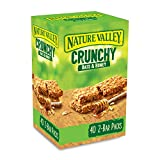 Nature Valley Crunchy Granola Bars Oats 'n' Honey 40 Pack 2 Bars Per Pack...