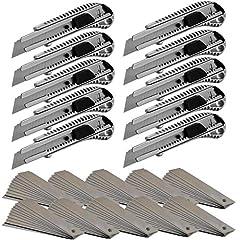10x Profi Aluminium Cuttermesser 18mm