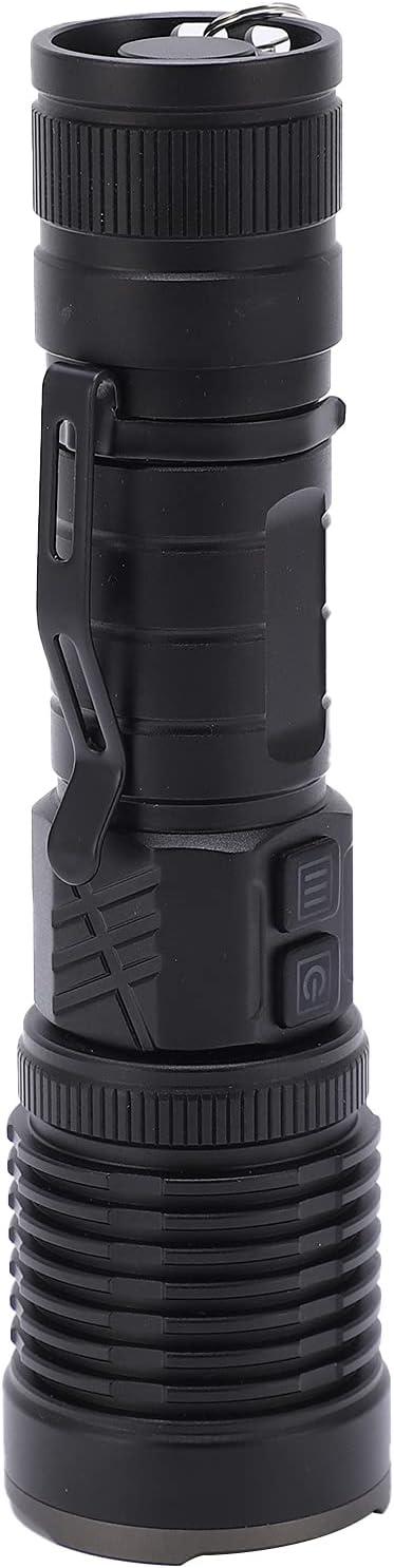 LED Flashlight Aluminum Fees free!! Alloy Shell Super Bright XHP99 specialty shop Zo Torch
