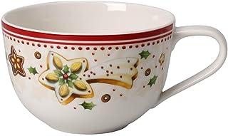 Villeroy & Boch 14-8612-1240 Taza de Desayuno Winter Bakery Delight, para Navidad, 450 ml, Porcelana, Multicolor, 46.0x28.0x9.5 cm