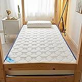 Colchón De Suelo Plegable Para Dormir, Colchón Grueso De Látex Natural, Colchón De Futón Tradicional Japonés,...