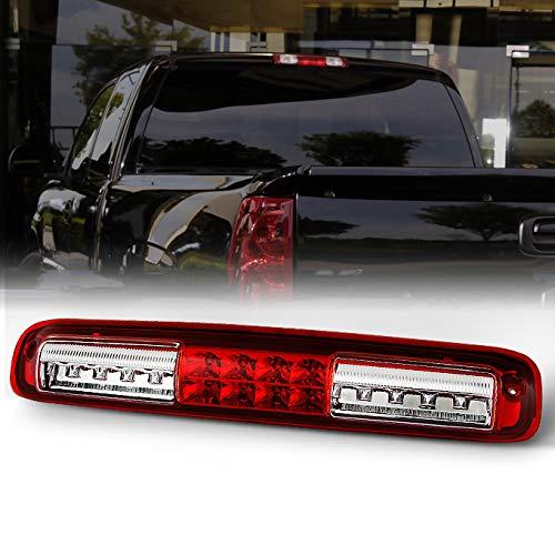 AKKON For Chevrolet Silverado GMC Sierra Replacement LED 3rd Brake Light Signal Third Cargo Stop Lamp Red