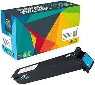 Do it Wiser Compatible Toner Cartridge Replacement for Konica Minolta Bizhub C452 C552 C652 Toner | TN613 TN613C (Cyan)