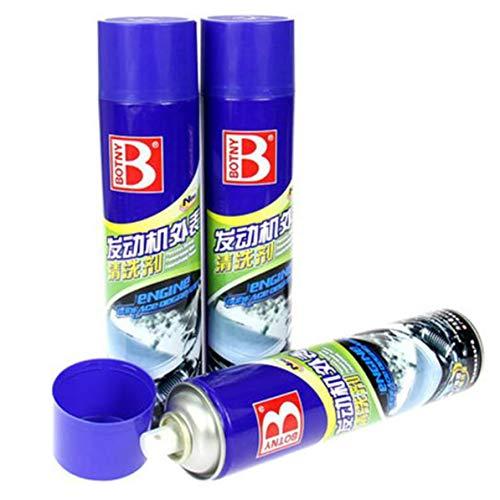 Sunnyflowk B-1110 Motoroberflächenreiniger Motorentfetter-Sprühdose Motor Externes Reinigungsmittel Auto Motoroberflächen-Wartungsmittel (blau)
