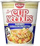 NISSIN Cup Noodles Shrimps, 8er Pack (8 x 63 g) -