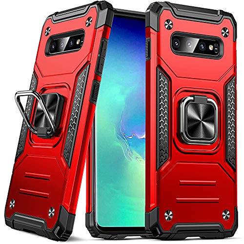 DASFOND Funda Compatible con Samsung Galaxy S10 Plus / S10 + (6.4