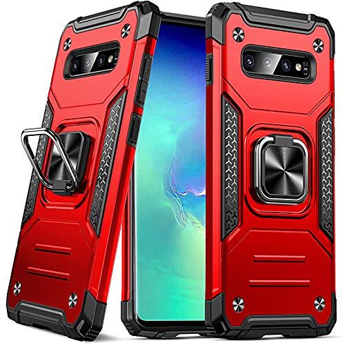 DASFOND Funda Compatible con Samsung Galaxy S10 Plus / S10 + (6.4