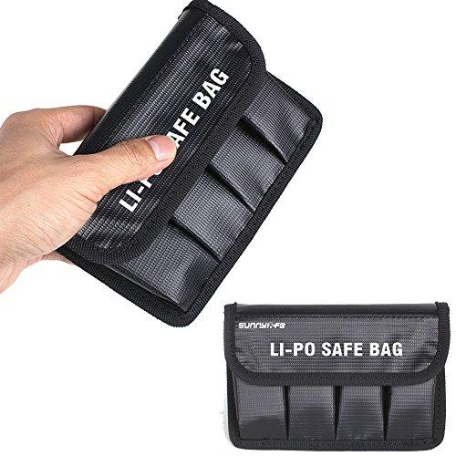 Flycoo Custodia per Batteria a Prova di Fuoco Lipo Safe Battery per DJI OSMO OSMO Mobile OSMO + OSMO Raw e PRO