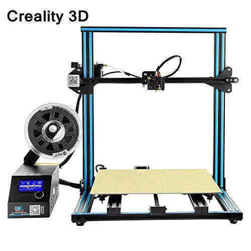 Laecabv Creality CR-10S4 Imprimante 3D Machine Dua Z Haste Filament Detect Retourner Power Off Kit d'imprimante 3D en option Kit de travail DIY